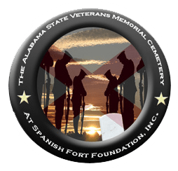 logo alabama state veterans cemetery foundation